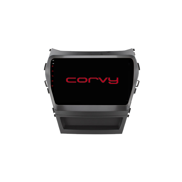 "Navigatore GPS touchscreen per Hyundai ix45 (2015-2017), Android 9"" SENZA un amplificatore."