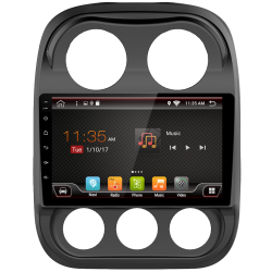 Navigatore GPS touch per Jeep Compass (2010-2017), Android 10,1""