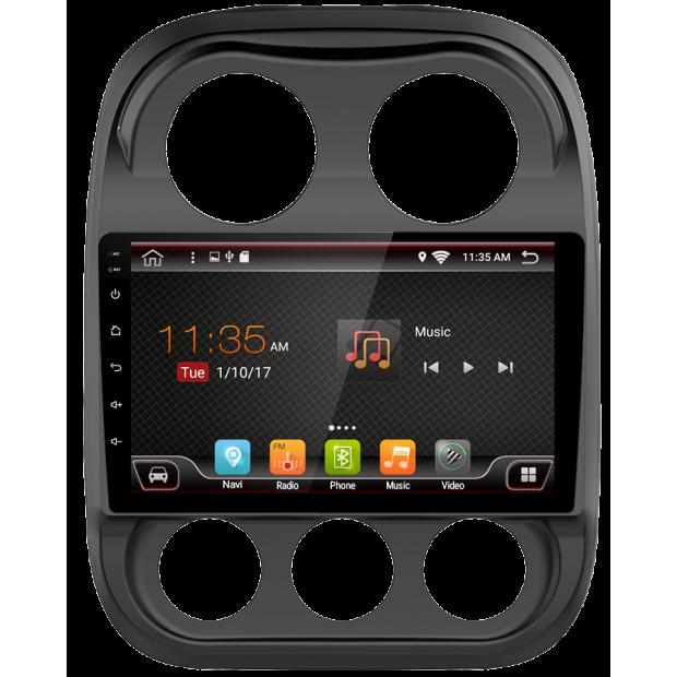 """Navigateur GPS tactile pour Jeep Compass (2010-2017), Android 10,1"""""""