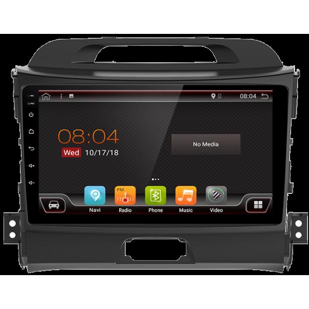 "GPS-navigator mit touchscreen für Kia Sportage R (2011-2016), Android 9"""