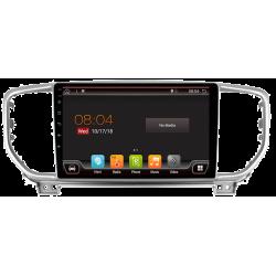 "Navegador GPS táctil para Kia Sportage KX5 (2016-actualidad), Android 9"""