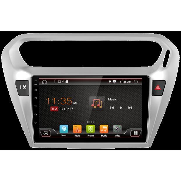 "GPS Citroen C-Elysee (2014-2017), Android 9"""