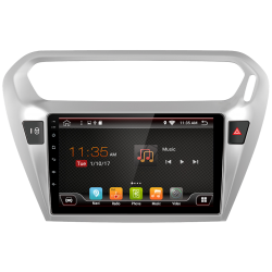 "GPS navigator Peugeot 301 (2014-2017), Android 9"""