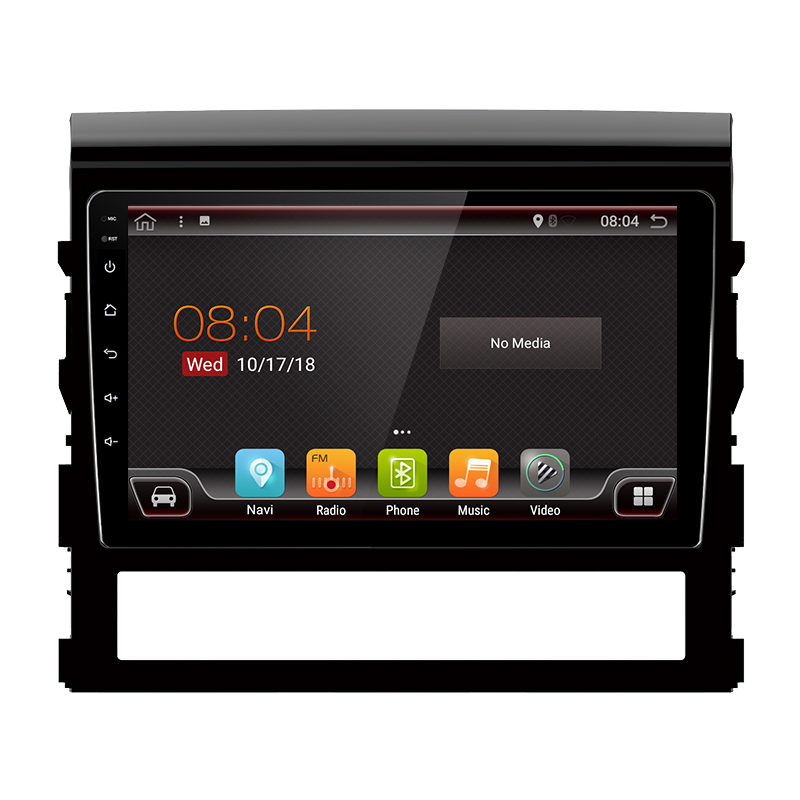 """GPS de navigation de Toyota Land Cruiser (2019-présent), Android 9"""""""