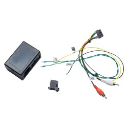 Decodificador de fibra óptica para Mercedes Benz classe ML/GL/R e Porsche Cayenne