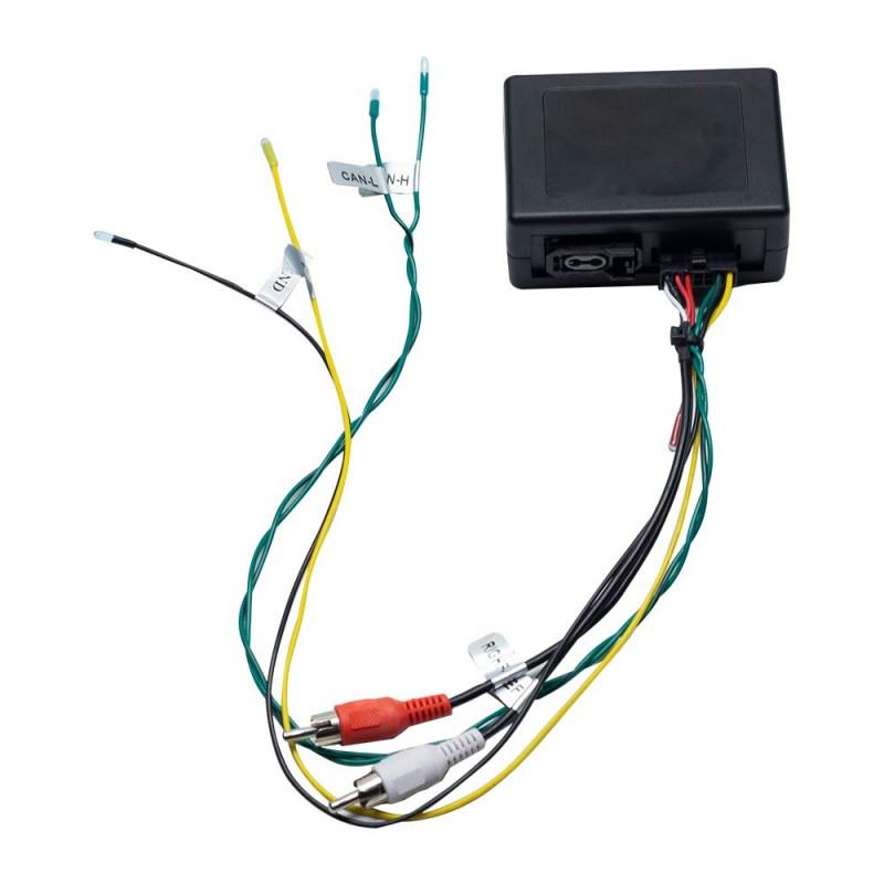 Décodeur de fibres optiques pour Mercedes Benz classe E/CLS/SLK/SL/CLK