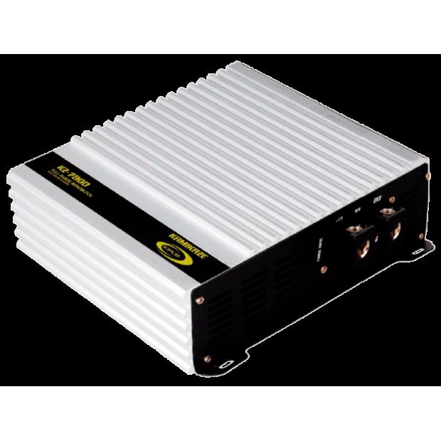 Amplificateur mono numérique, gamme complète ventilé. 1.515 w rms @4 Ω/ 2.275 w rms @2 Ω/ 3.250 w rms @1 Ohm.