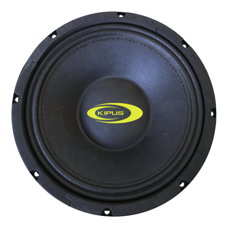 "Mid-bass 8"". 250 w rms/625 w max.  Impedancia 4 Ω"