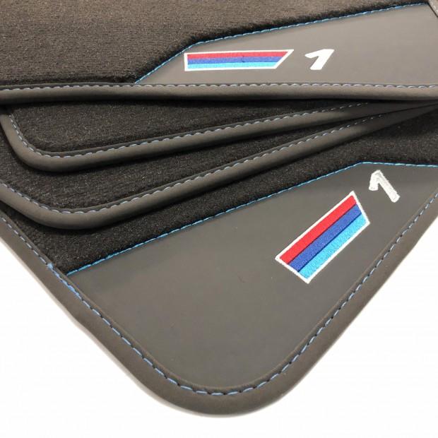 Os tapetes de Couro BMW E87 (2005-2014)