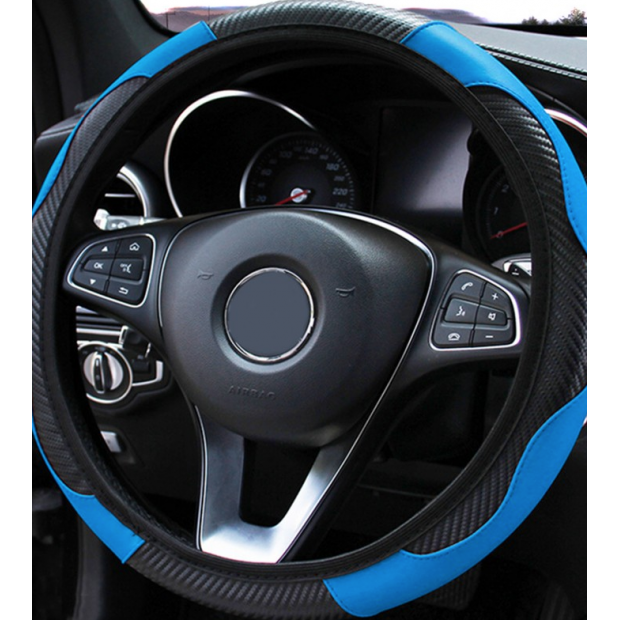 Copertura volante blu