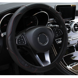 Cover steering wheel Black