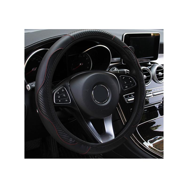 Cover steering wheel Black