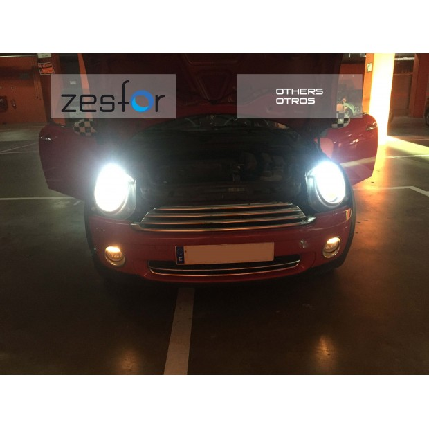 Kit luz Cruzamento para Mini (Inclui Kit de diodo emissor de luz ZesfOr + cancelamento)
