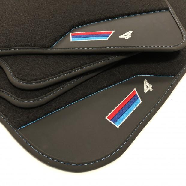 Os tapetes de Couro BMW F32 Série 4