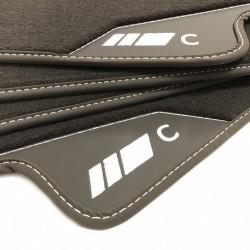 Floor mats, Leather Mercedes C204 C-CLASS COUPE