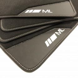 Floor mats, Leather Mercedes ML W163 (1997-2005)