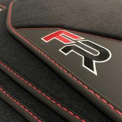 Floor mats, Leather-Seat Leon MK3 (2012-2018) finish FR