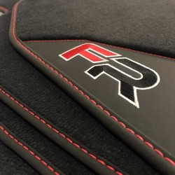 Tappetini in Pelle-Seat Leon MK3 (2012-2018) finitura FR
