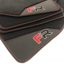 Floor mats, Leather Seat Ateca finish FR