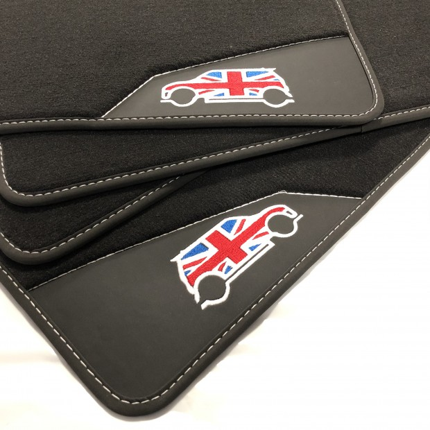 Floor Mats, Leather Mini Cooper R50