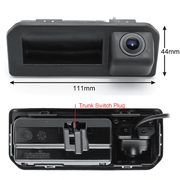 Camera Tailgate Trunk Audi and Volkswagen