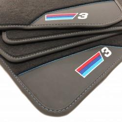 Os tapetes de Couro BMW E46 Cabrio