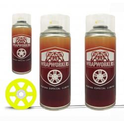 Kit lackiert-felgen gelb fluor (glanz oder matt) - WrapWorkers