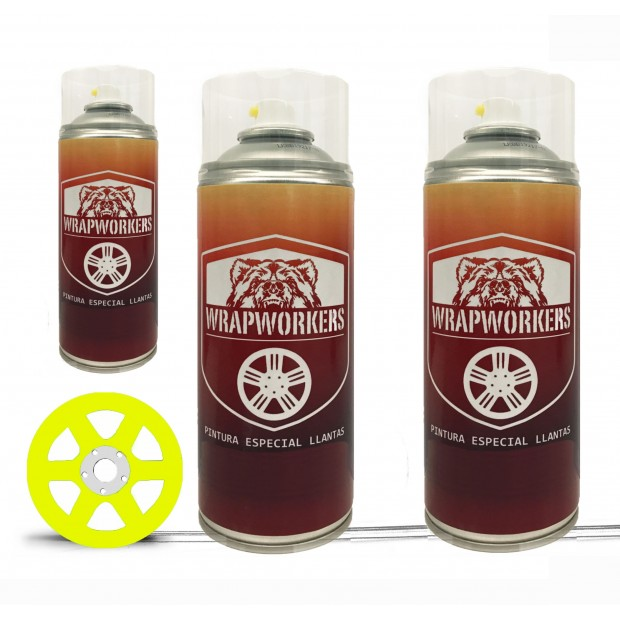 Peint Kit de pneus de néon (brillant ou mat) - WrapWorkers