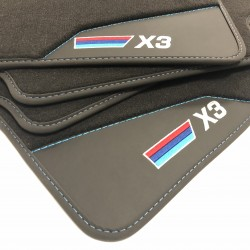 Floor mats, Leather-BMW X3 F25