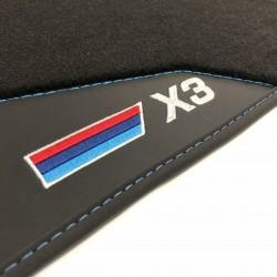 Os tapetes de Couro BMW X3 F25
