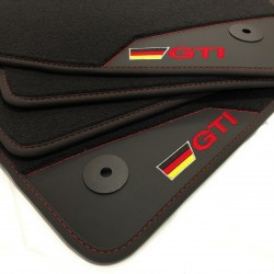 Floor mats, Leather-Volkswagen Golf 5 GTI