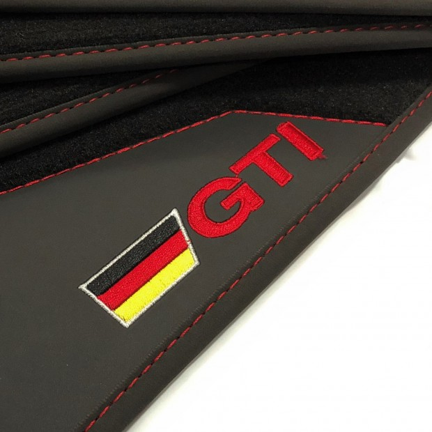 Tappetini in Pelle-Volkswagen Golf 5 GTI