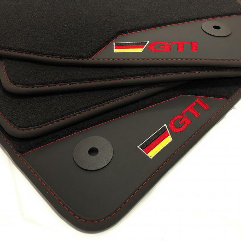 Fußmatten Leder-Volkswagen Jetta GTI