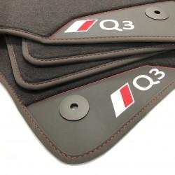 Os tapetes de couro Audi Q3 F3 (2019-atualidade)