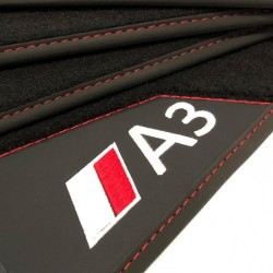 Floor mats, Leather Audi A3 8V