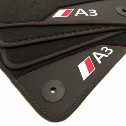 Floor mats, Leather Audi A3 8V