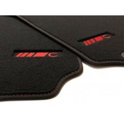 Floor mats, Mercedes w204