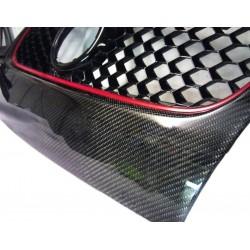 Vinyle Carbone Noir Brillant PREMIUM 75x152cm