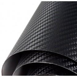 Vinil Fibra de Carbono Preto Normal - 200x152cm (Teto completo)