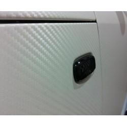 Vinil Fibra de Carbono Branco - 25x152cm