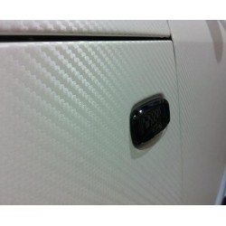 Vinyl Fiber-Carbon-Weiß - 25x152cm
