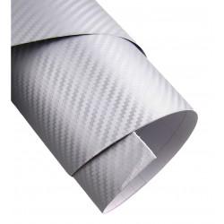 Vinyl Fiber-Carbon Silber