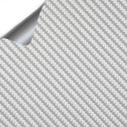 Vinyle en aluminium brossé 25x152cm
