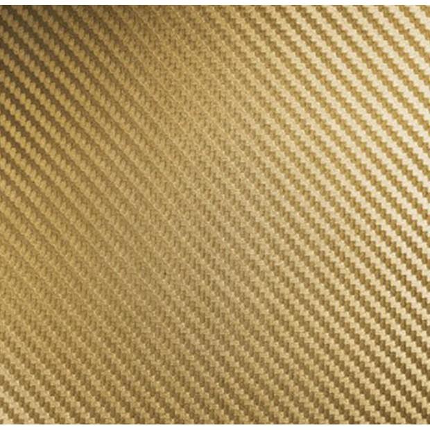 sticker Carbone Or - 200x152cm