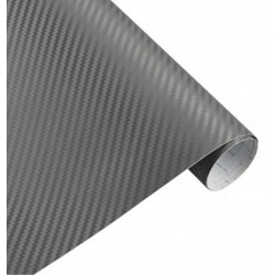 lamina de pegatina Fibra Carbono antracita
