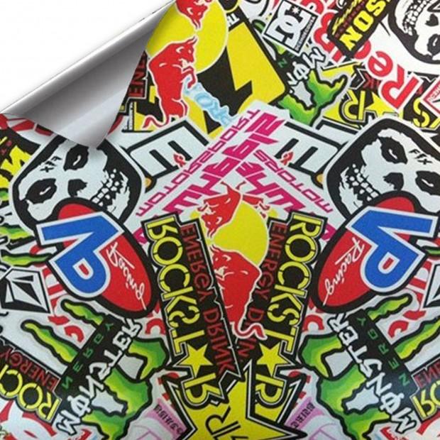 Vinyl Hellaflush RockStar 300x152cm