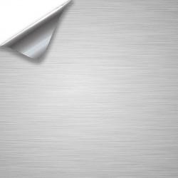 Vinyle Aluminium Brossé 75x152cm