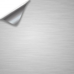 Vinyle Aluminium Brossé 50x152cm