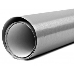 Vinyl Aluminium Gebürstet 50x152cm