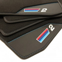 Floor mats, Leather BMW F22